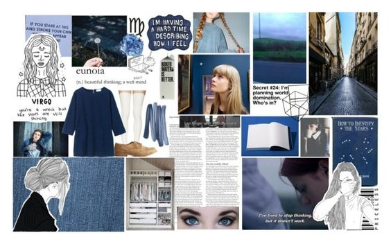 """""""virgo"""" by sydneycoco12 ❤ liked on Polyvore featuring Sacai Luck, Toast, Charlotte Russe, ASOS, Bobbi Brown Cosmetics, Sharpie, zodiac and Virgo"""
