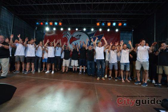 Saisonauftakt der Adler Mannheim - The Boys are back