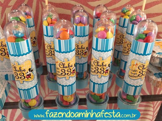 Tubetes mold Mini Confetti