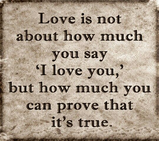 Love In Action Quotes: Love Is, Action And Words On Pinterest
