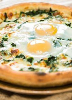 Low FODMAP & Gluten free Recipe - Florentine pizza  (update) http://www.ibssano.com/low_fodmap_recipe_florentine_pizza.html