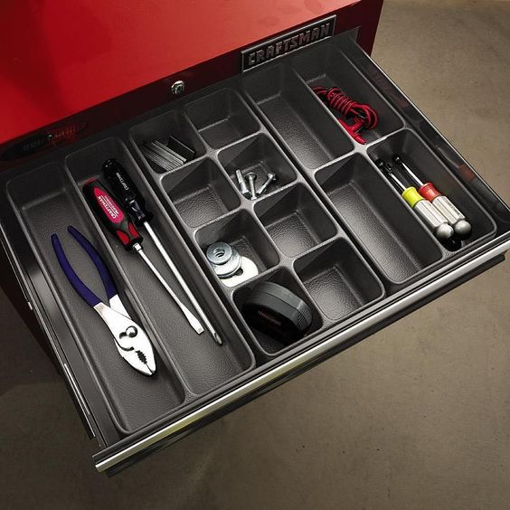 Craftsman Tool Box Organizer Shelf Drawer Divider Wrench Screwdriver Tray Holder #Craftsman