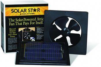 Solarstar Attic Vent Conversion Kit Converts Gable Fan To Solar Powered Also For Other Attic Venting Solar Energy Panels Solar Panel Installation Solar Power