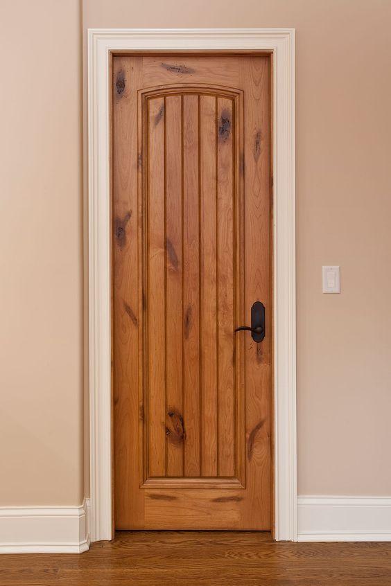Custom Interior Door Solid Wood Traditional Collection Single Gdi 501 In 2020 Wooden Doors Interior Solid Wood Interior Door Rustic Doors Interior