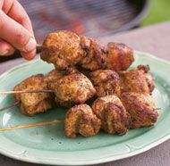 Moroccan-Spiced Chicken Brochettes: lots of spices=$$$
