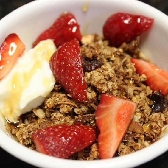 """Homemade Granola 