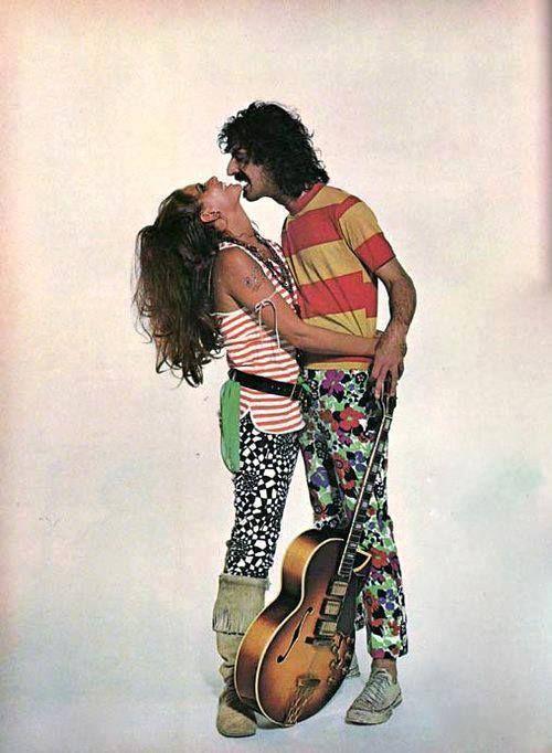 Claudia Cardinale & Frank Zappa 1967   Tumblr