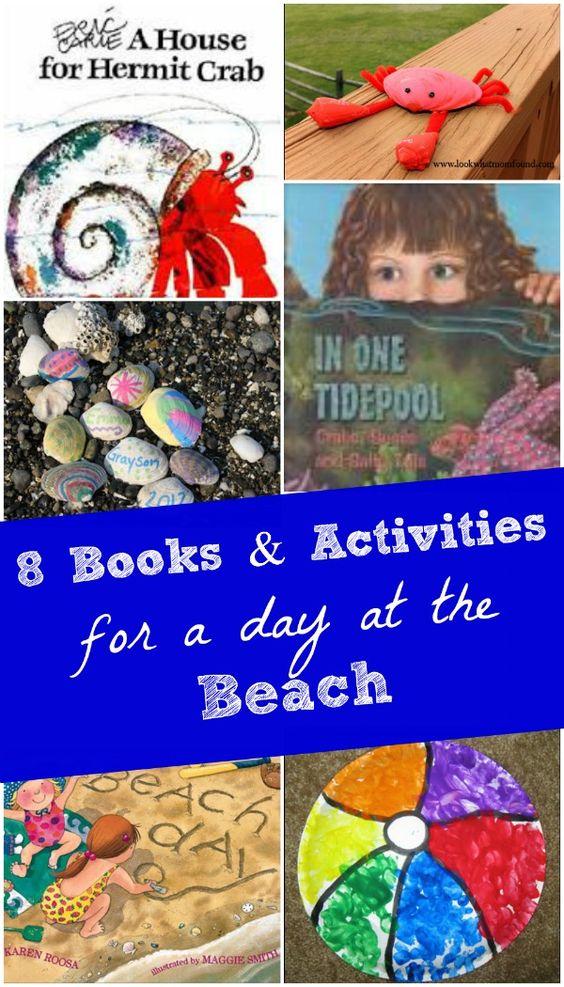 8 Creative Beach Books & Activities For Kids