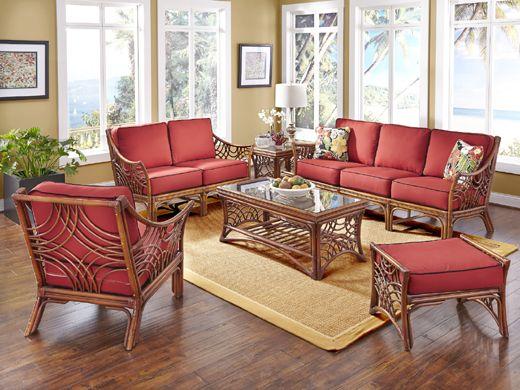 Indoor Rattan And Wicker Living Room Sets Living Room Sets 6 Piece Living Room Set Living Room Collections