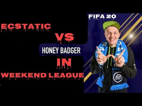 I Versed Honeybadgerfifa Fifa Pro Player In Fut Champions Weekend League Fut Champs Fifa 20 Youtube In 2020 Fifa 20 League Youtube