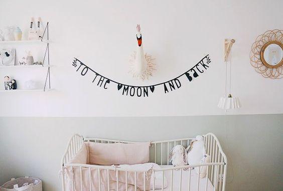idée peinture chambre fille - La chambre bébé d'Adèle