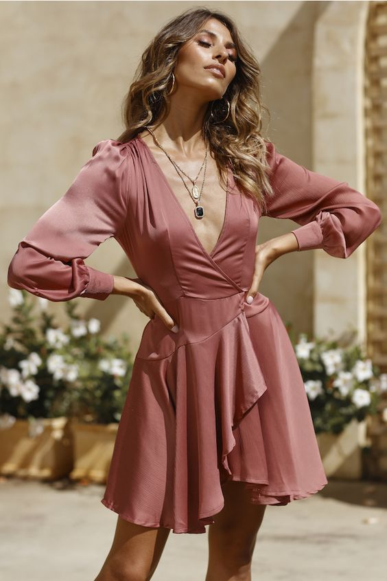 Golden Gate Dress Rose