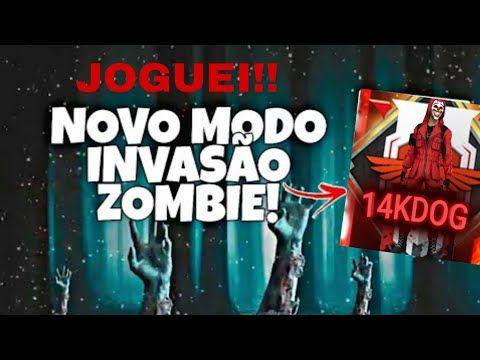 Joguei O Novo Modo Invasao Zumbi Youtube Invasao Zumbi Jogos Zumbi