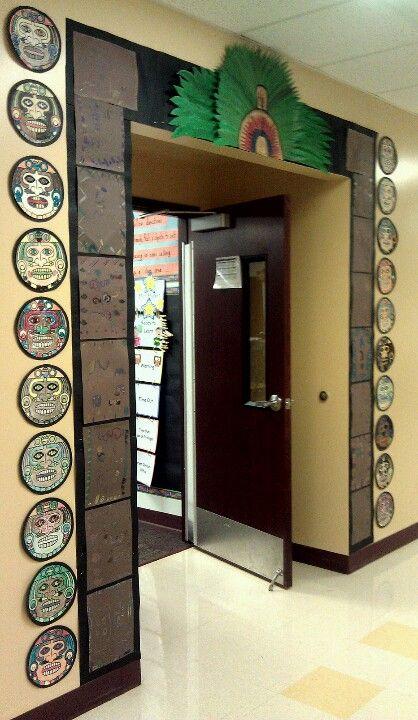 Aztec Classroom Decor ~ Maya aztec inca doorway school ideas pinterest
