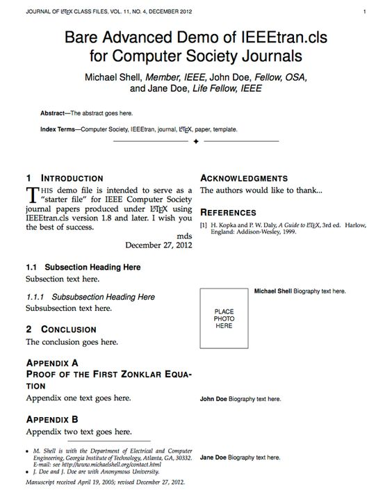 ieee journal template word - 28 images - ieee conference template ...