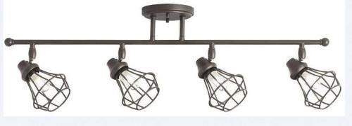 Patriot Lighting Boski Oil Rubbed Bronze 4 Light Track Light At Menards Patriot Lighting Reg B Rustic Track Lighting Track Lighting Kits Fixture Industrial