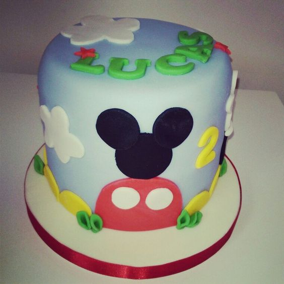 Mollys Little Bakery Kent Mickey Mouse Clubhouse cake Mollys