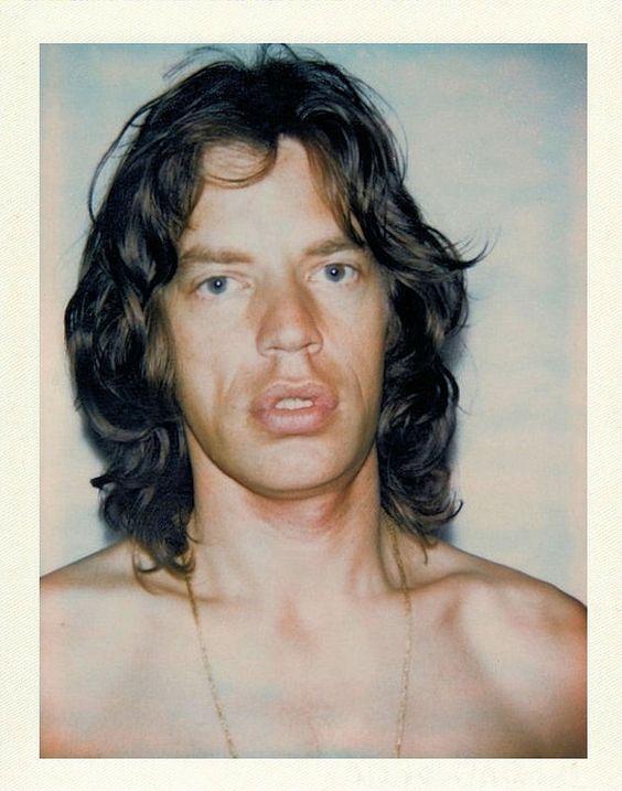 Mick Jagger - 1977 (Andy Warhol)
