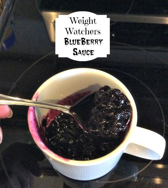 ½ cup cold water     ⅛ tsp. salt     1 TBS. Kiva Organic Stevia or other sugar substitute     8 ounces frozen (thawed) Wymans of Maine Blueberries     ½ tsp. Vanilla extract (optional)