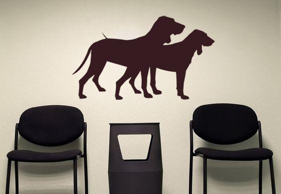 Wandtattoo Hunde von wall-art.de