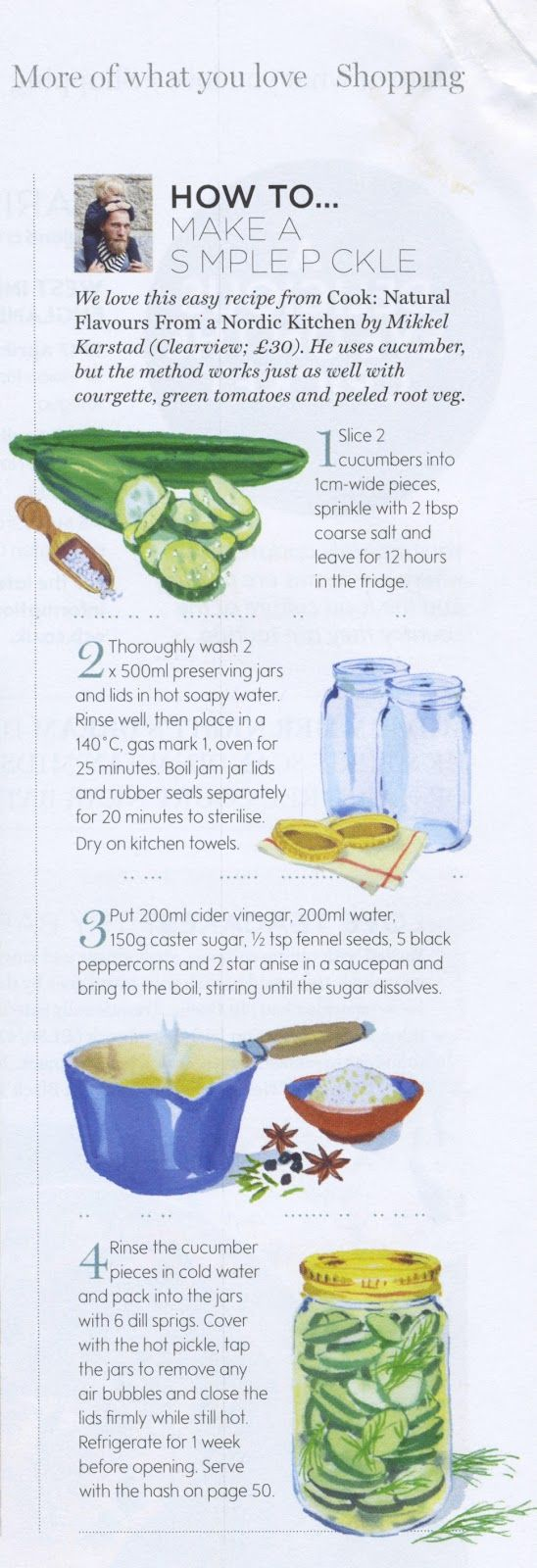 MARY WOODIN ILLUSTRATION: SIMPLE PICKLES