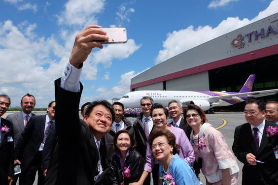 BANGKOK -- Thai Airways International this week became the fourth Asian airline to receive Airbus' latest-generation A350 XWB jetliner. Thailand's fla