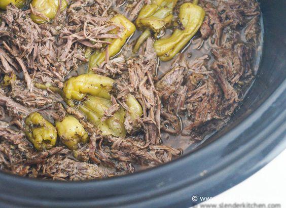 Sunday Slow Cooker: Pepperoncini Beef aka Drip Beef: