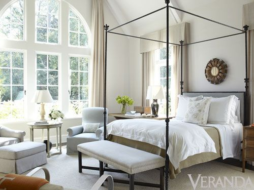 iron canopy + soft palette ... jim howard / veranda (via things that inspire)