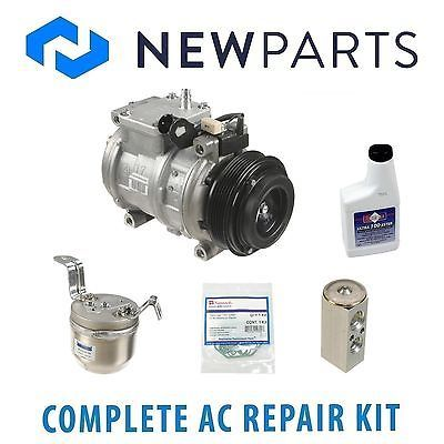 cool NEW BMW E36 3 Series 325i 325is 92-95 AC Repair Kit With Compressor & Clutch - For Sale