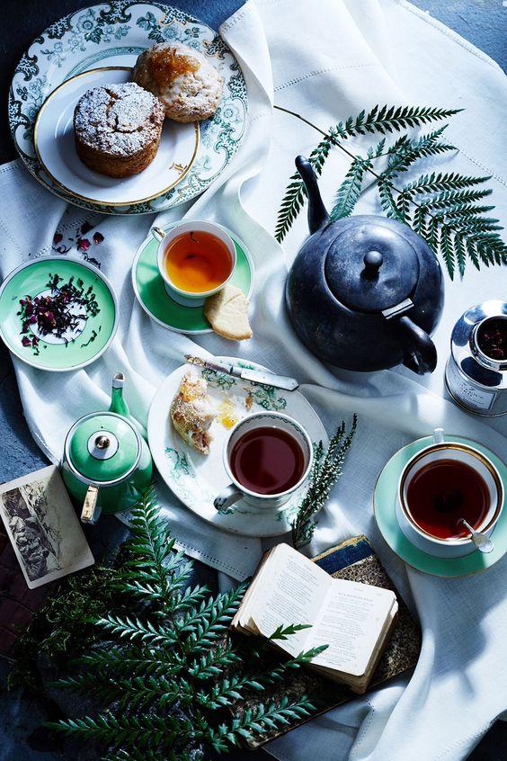 Meggyes-vaníliás tea