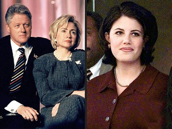 an analysis of the scandal of bill clinton and monica lewinsky Monica lewinsky took a stand at a conference in jerusalem on monday, september 3, after she was asked about her affair with bill clinton — details.