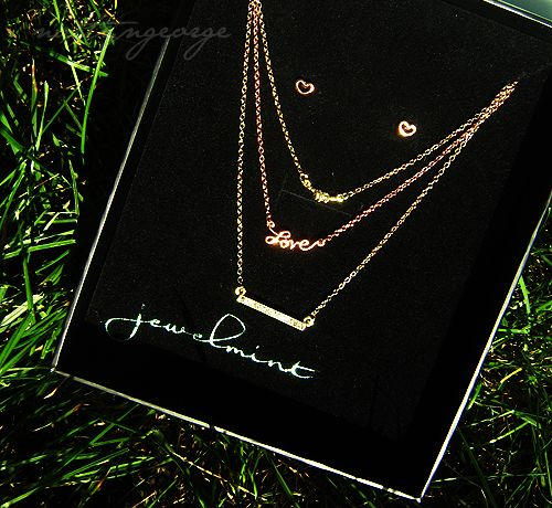 Here to eternity 2 tone necklace - Jewelmint