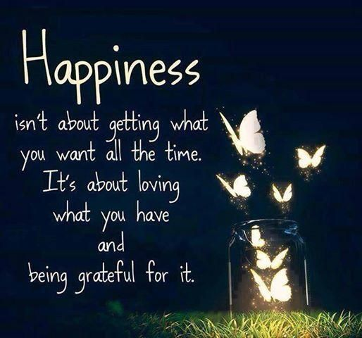 And a smile to go with. RT @MJasonHouck: Happiness isn't always about getting what you want all the time. pic.twitter.com/nbo2MfCCot