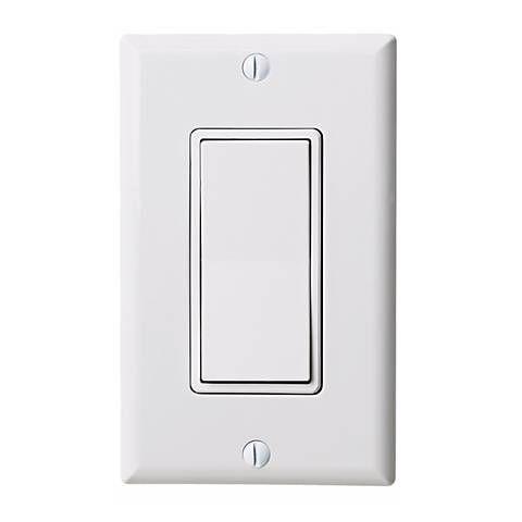 3 Way White Rocker Switch By Leviton 08535 Lamps Plus