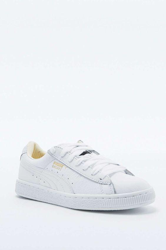 vans chaussure de femme - Puma �C Sneaker ?Classic�� aus Leder in Wei? | FASHION & | Pinterest ...