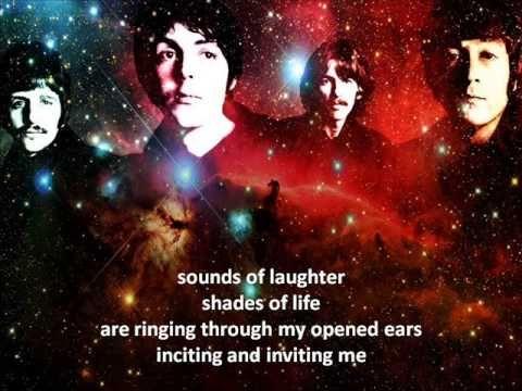 The Beatles - Across The Universe - Lyrics
