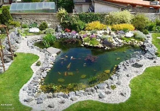 Miniature Ponds In The Yard 30 Successful Examplescalifornia Decor Ideas Create Comfort Together In 2020 Ponds Backyard Pond Landscaping Backyard Water Feature