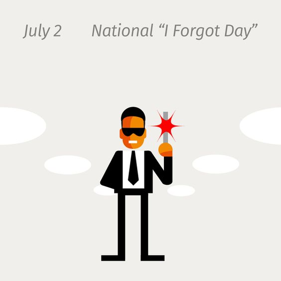 I forgot day!