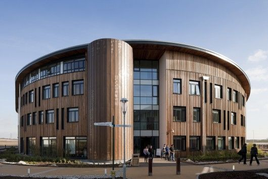 Ron Cooke Hub in University of York in Heslington by BDP Professions