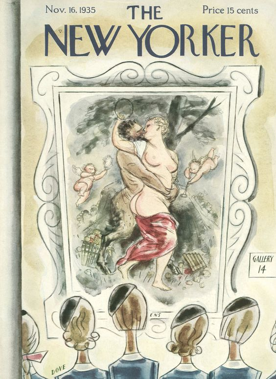 The New Yorker - Saturday, November 16, 1935 - Issue # 561 - Vol. 11 - N° 40 - Cover by : Leonard Dove