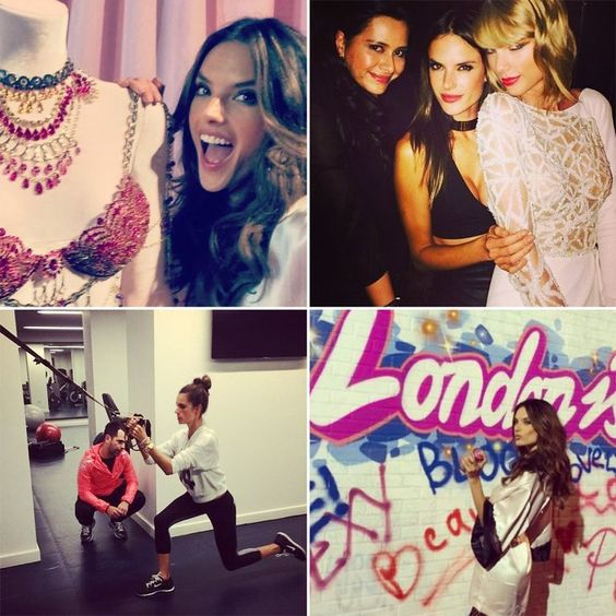 Pin for Later: Alessandra Ambrosio Shares Her London Instagram Diary (Exclusive!)
