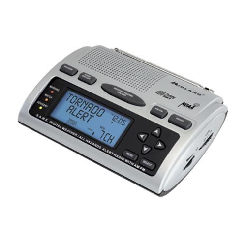 Stay up to date on the changing weather in your area.  Midland Weather Radio WR-300