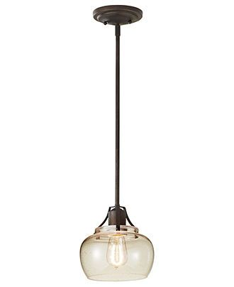 Murray Feiss Lighting, Urban Renewal Clear Pendant - Ceiling Lighting - for the home - Macy's - on sale for $75