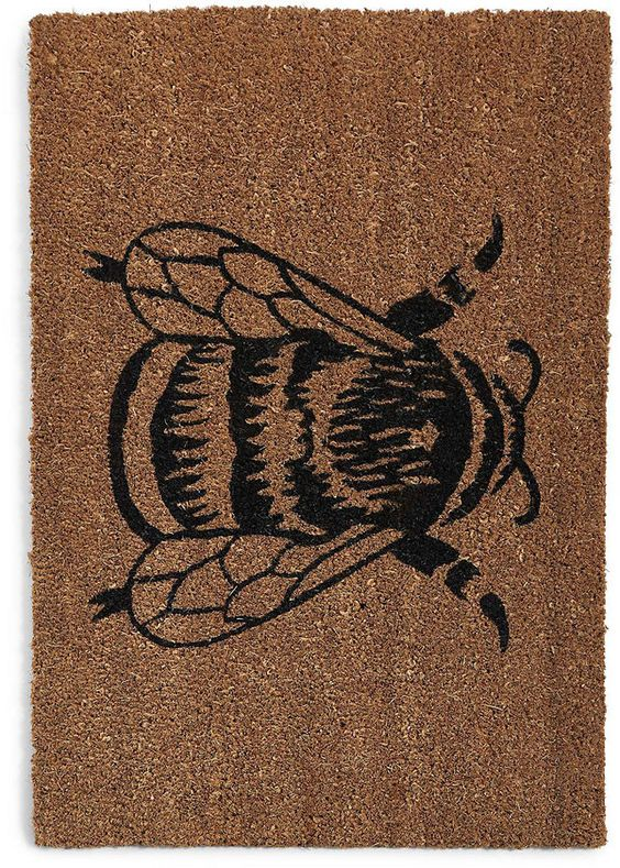 Bumblebee Doormat Just Took My Fancy Something Different From The Welcome Mats That You Usually See With Images Door Mat Bumble Bee Rugs