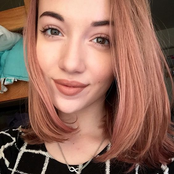 �also i dyed my hair using manic panic quotcotton candy pink