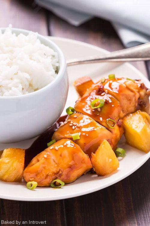 Baked Teriyaki Chicken is great because there are just a handful  Mein Blog: Alles rund um die Themen Genuss & Geschmack  Kochen Backen Braten Vorspeisen Hauptgerichte und Desserts # Hashtag