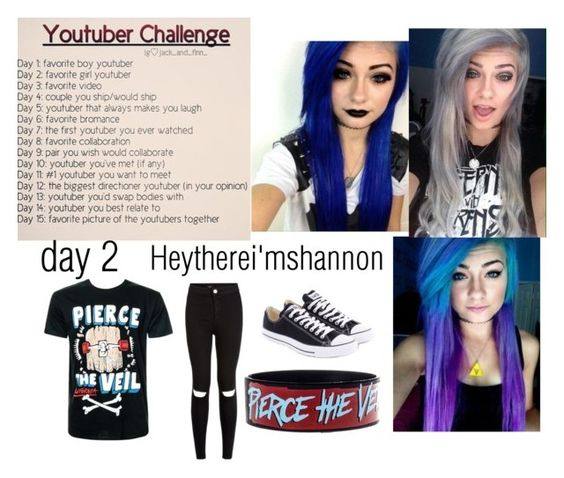 """""""youtuber challenge"""" by falloutpikachu on Polyvore"""