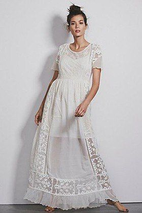 White Maxi Dresses At Every Price : Lucky Magazine