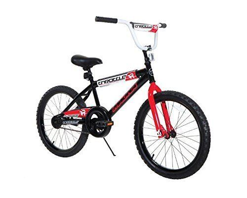 20 Boys Bmx Frame Throttle Magna Bike Heavy Duty Black Perfect