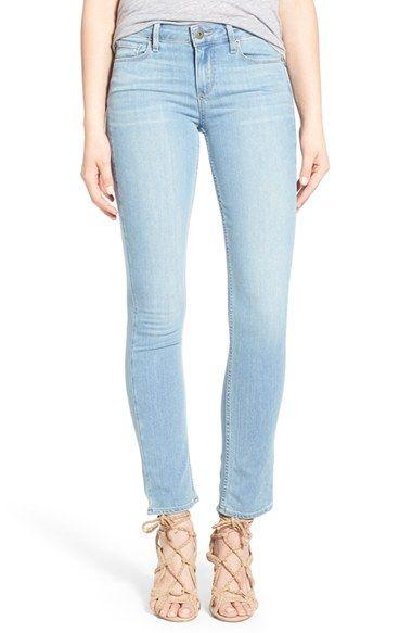 Paige Denim 'Skyline' Ankle Peg Skinny Jeans (Addy)